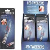 LED Light Tweezers Case Pack 96