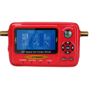 Octagon SF 518 LCD HD SatFinder Metre with USB Spectrum