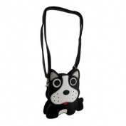 Sleepyville Critters Black and White Boston Terrier Crossbody Purse