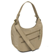 Travelon Hack-Proof Convertible Hobo with RFID Protection - Champagne