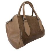 H & S Collection 5198-56 CL SASHA Camel Structured Sacthel/ Shoulder Bag