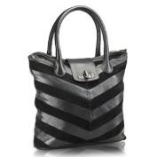 Women Tote Bag (Black) (PR597)