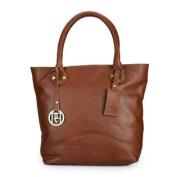 Women Tote Bag (Tan) (PR972)