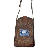 Gameday Purse Womens College Georgia Southern Eagles Brass GSO-P232-1