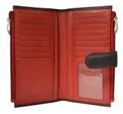 Visconti CD23 Jade Womens Soft Leather Bifold Wallet Purse Clutch
