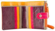 Visconti Mojito M77 Multi Coloured Soft Leather Compact Wallet / Purse