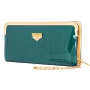 Aqua Zippy Lady Wallet Case fits for Samsung Galaxy S6 / S6 Edge / S6 Active