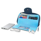 Travelon Hack-Proof RFID Blocking Clutch Wallet w/ Power Pack - Navy