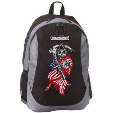 Sons of Anarchy Men's Flag Reaper Backpack