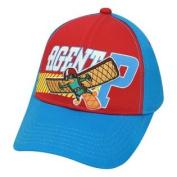 Phineas And Ferb Secret Agent P Perry Platypus Hat Cap Disney Channel Kids Boys