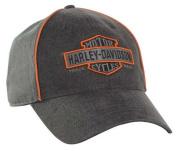 Harley-Davidson Men's Nostalgic Bar & Shield Baseball Cap BC31380