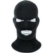 Black WINTUCK Three Hole Acrylic Face Mask