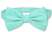 BOWTIE Solid AQUA GREEN Colour Men's Bow Tie for Tuxedo or Suit