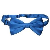 SILK BOWTIE Solid ROYAL BLUE Colour Men's Bow Tie for Tuxedo or Suit
