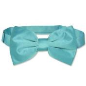 BOWTIE Solid TURQUOISE AQUA BLUE Colour Men's Bow Tie