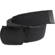 Black Military Web Belt Black Buckle