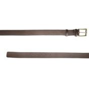 BELSTAFF Women's Black Brown Leather Vintage Belt 759085 Sz 70cm $375 NWT