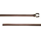 BELSTAFF Women's Blk Brown Leather Double Rep Belt 759010 Sz 80cm $375 NWT