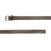 BELSTAFF Women's Black Brown Leather Knotted Belt 759036 Sz I / 95cm $375 NWT