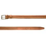 BELSTAFF Women's Burnt Brown Leather New Rep Belt 759026 Sz 90cm $375 NWT