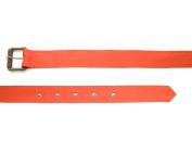 BELSTAFF Women's Orange Satin Belt Sz 80/105cm $250 NWOT