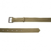 BELSTAFF Women's Military Green Cloth Belt Sz 85/115cm $225 NWOT