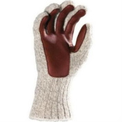 (Price/EACH)Fox River FOX-9300-06120-M Ragg And Leather Glove, Medium, Brown Tweed