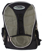 Rucksack 36 Litres Sky Express 5 Pockets and Patch Band Multicolour green / black