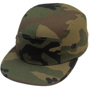 Woodland Camouflage Military Style Urban Street Cap