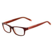 MARCHONYC Eyeglasses M-GRAND 604 Soft Burgundy 47MM