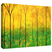 Art Wall Herb Dickinson 'Applachian Forest II' Gallery-wrapped Canvas Art