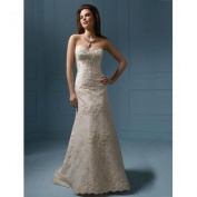 Alfred Angelo Wedding Gown Style 801 Ivory Size 18