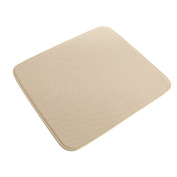 Deluxe Dish Ultra-Absorbant Thick Drying Mat 41cm x 46cm - Cream