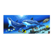 David Dunleavy 'Dolphins' Canvas Wall Art