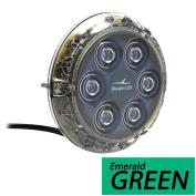 Bluefin Led Piranha P6 Nitro Green Sm Underwater Light 24V