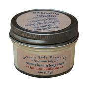 ORGANIC BODY ESSENTIALS Extreme Hand & Body Cream, Jasmine Tangerine, 120ml