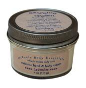 ORGANIC BODY ESSENTIALS Extreme Hand & Body Cream, Lavender, 120ml