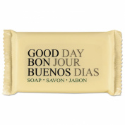 Good Day GTP 390150 Amenity Bar Soap, Pleasant Scent, 45ml, White