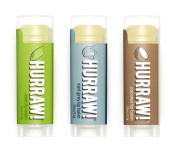 Hurraw! Lip Balms 3-pack