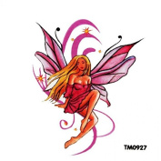 GRASHINE Waterproof woman colour sexy angel tattoo sticker