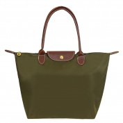 Witery® Fashion Designer Waterproof Casual Nylon Tote Bag / Top Handle Handbags / Shoulder Bag Amy Green