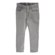 7 for All Mankind Boys Winter Grey Rhigby Skinny Straight Jeans Sz 8 7FBYB153
