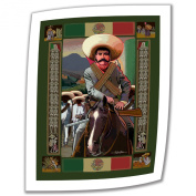 Art Wall Zapata 90cm by 70cm Unwrapped Canvas Art by Rick Kersten with 5.1cm Accent Border