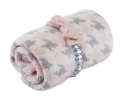 Nat and Jules Chenille Blanket and Headband Set