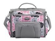 Nat and Jules Pink Floral Backpack Nappy Bag