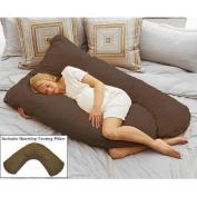 Pregnancy and Nursing Pillow Pack, Espresso
