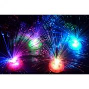 MMRM Romantic LED Colour Changing Fibre Optic Night Light Lamp for Festival Party Decoration