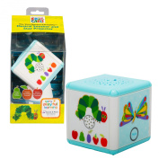 Baby Portable Soother and Star Projector - Eric Carle's The Very Hungry Caterpillar - 4 Modes of Light and Sound