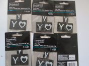 """Y"" Chalk Tiles for Scrapbooking or Crafting 2.5cm"