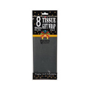 CraftSource Tissue Paper, 8 Sheets, Black